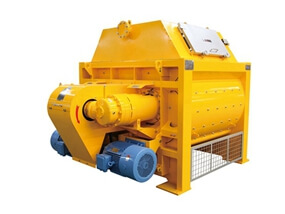 YJS Twin-shaft Concrete Mixer