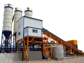 HZS120 Concrete Batch Plant