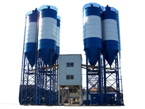 HZS180 Concrete Batch Plant